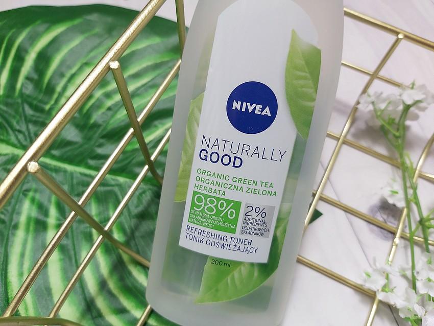 nivea naturally good tonik z zieloną herbatą