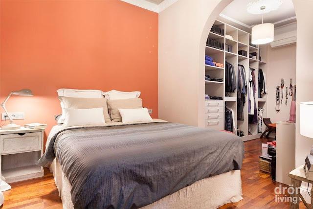 M s de 25 decoraciones de dormitorios sin cabeceras - Dormitorios sin cabecero ...