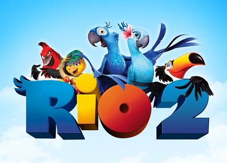 Download Rio 2 (2014) Dual Audio [Hindi+English] 720p + 1080p Bluray MSubs