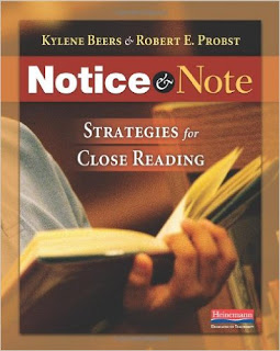 https://www.amazon.com/Notice-Note-Strategies-Close-Reading/dp/032504693X/ref=sr_1_1?ie=UTF8&qid=1466628755&sr=8-1&keywords=notice+and+note