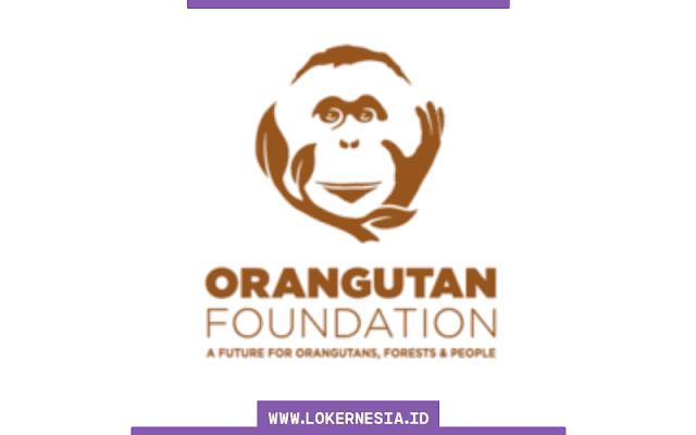 Lowongan Kerja Orangutan Foundation Juli 2021