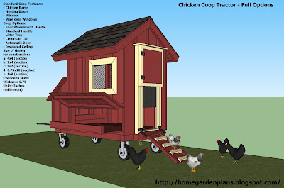 how to build a chicken tractor free plans