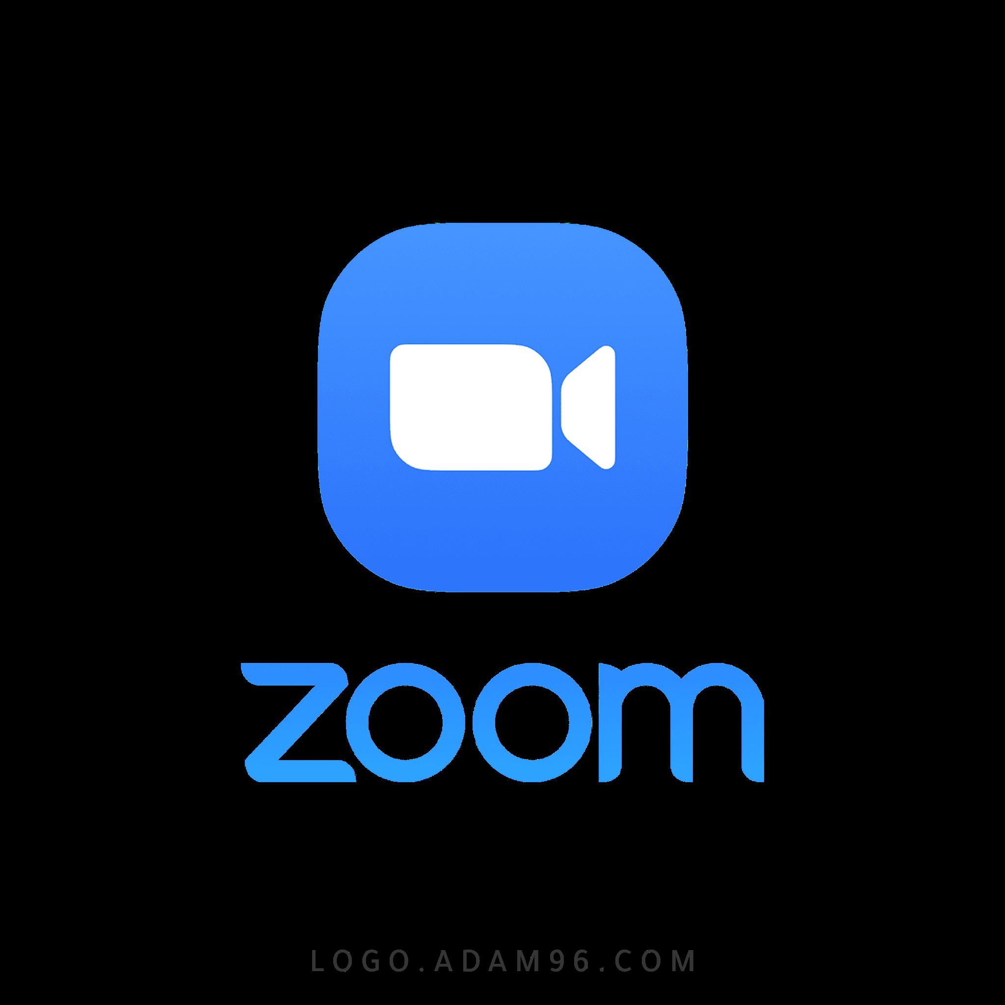 تحميل شعار موقع زووم التعليمي لوجو رسمي عالي الدقة بصيغة شفافة Logo Zoom PNG
