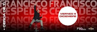 """Concierto de Francisco Cespedes """"Cerca de ti"""""""