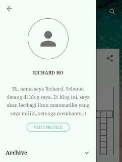 RH Blog yangKomposisi Warnanya Bagus namun Minim Konten