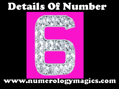 details of number 6 in numerology by numerologist