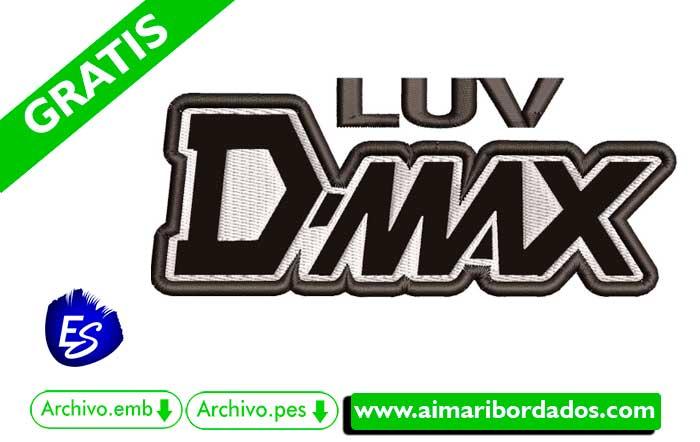 Logo Luv D´Max Para Bordar