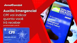 CPF vai indicar quanto você irá receber do Auxílio Emergencial