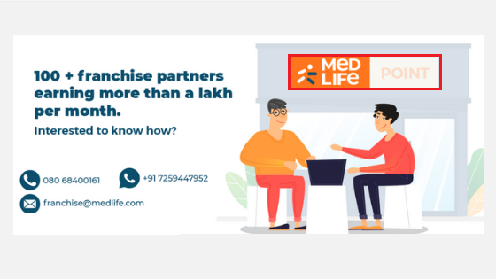 Medlife pharmacy franchise business- Cost, investments