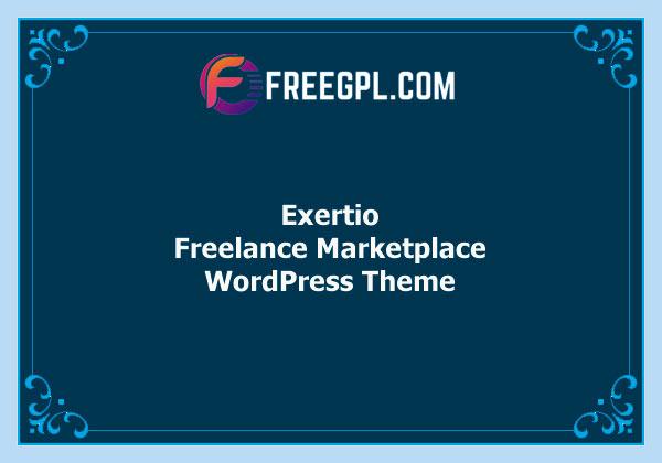 Exertio - Freelance Marketplace WordPress Theme Free Download