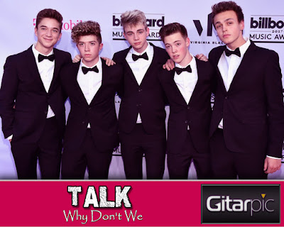 Chord Gitar Talk - Why Don't We