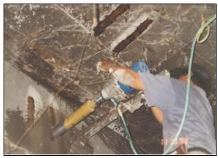 Metode Pemeriksaan Konstruksi Beton Bertulang Pasca Terbakar