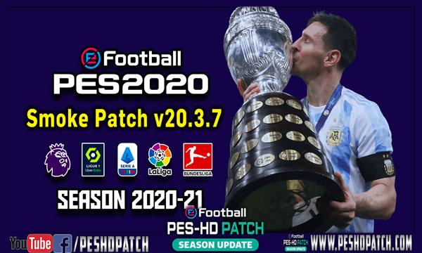 PES2020 Patch 2021 Smoke v20.3.7