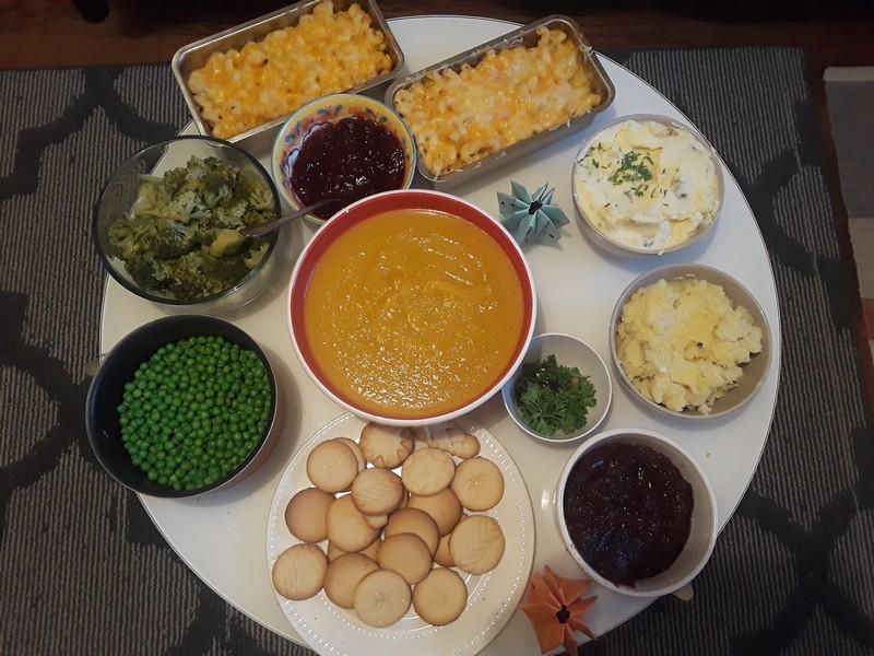Plats traditionnels de Thanksgiving