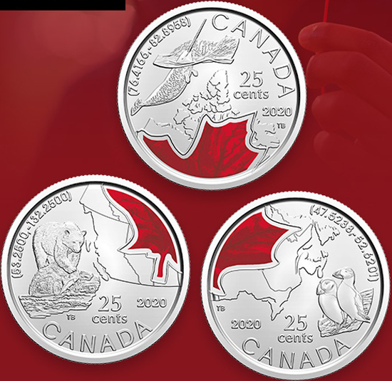 Canada 25 cents 2020 - Connecting Canada