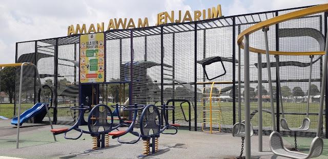 Permainan kanak-kanak di Taman Awam Jejarum @ Bukit Beruntung