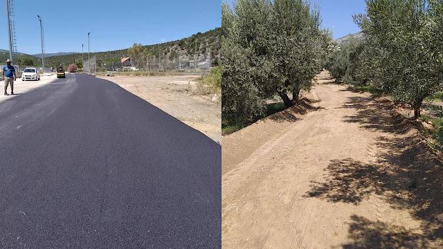 Αποκατάσταση αγροτικής οδοποιίας σε 165 τουλάχιστον δρόμους στο Δήμο Επιδαύρου