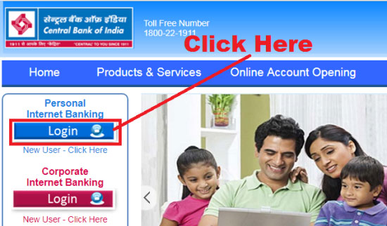 how to apply for cheque book in central bank of india