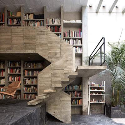 Desain Perpustakaan Minimalis