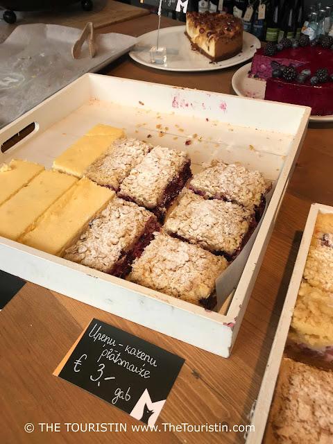 Farmer's Market in the Kalnciema Quarter. Cake. Latvia. The Touristin