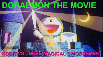 DORAEMON THE MOVIE NOBITA'S THREE MAGICAL SWORDSMEN