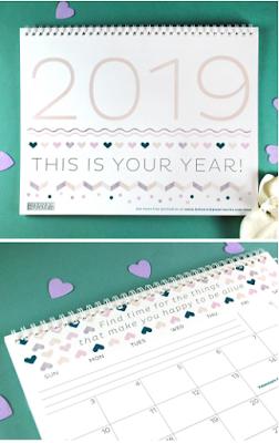 pretty 2019 calendar