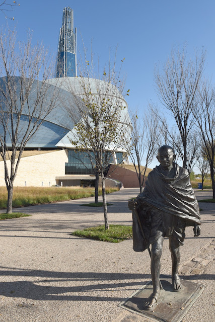 Ghandi; Canadian Museum of Human Rights
