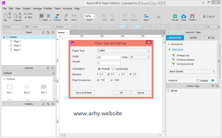 Axure RP 8.1.0.3372 Full Version Edition Pro/Enterprise