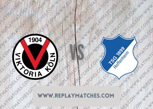 Viktoria Köln vs Hoffenheim -Highlights 09 August 2021