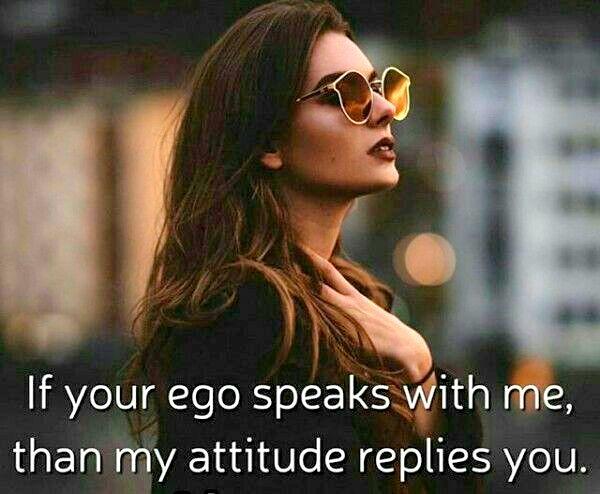 Attitude Boy Status Against Girls