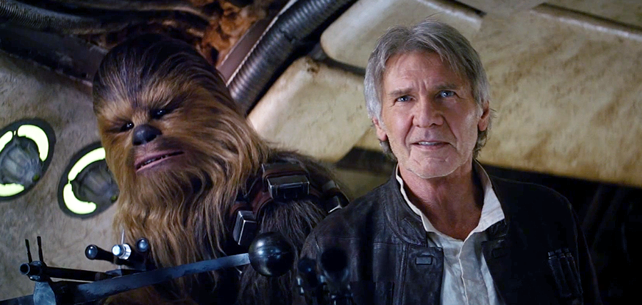 Star Wars: The Force Awakens Trailer: Han Solo şi Chewie