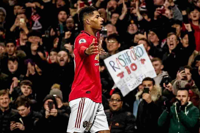 Marcus Rashford delivering free meals to childrens