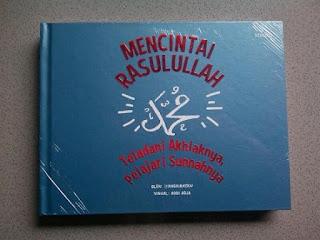Cover Buku Mencintai Rasulullah