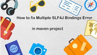 Multiple SLF4J Bindings Error