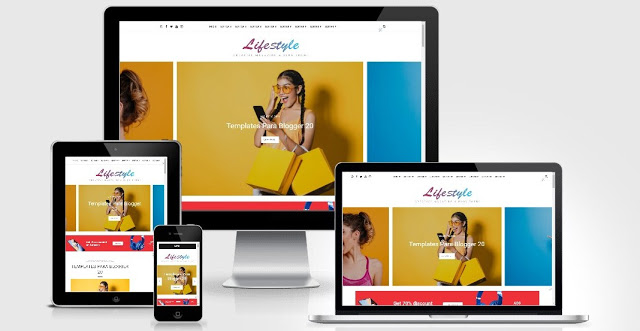 Blogger Template Life Style