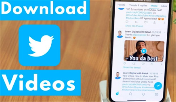 How to Download Video From Twitter App on iPhone