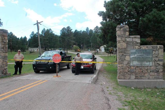 Fechamento e evacuação de observatório solar nos EUA