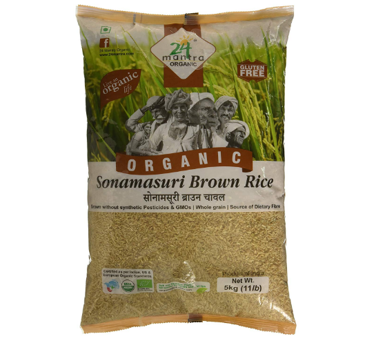 Sonamasuri Brown Rice
