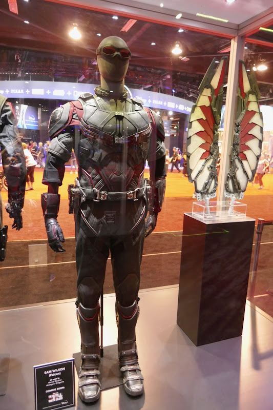 Anthony Mackie Falcon Avengers movie costume wings