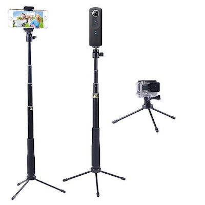 YiSeyruo Selfie Stick Extendable Monopod For Galaxy S8 Plus