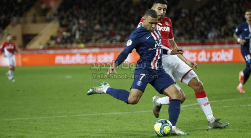 باريس سان جيرمان يكتسح موناكو ويواصل صدارة للدوري الفرنسي بدون منافس