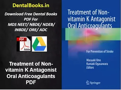 Treatment of Non-vitamin K Antagonist Oral Anticoagulants PDF