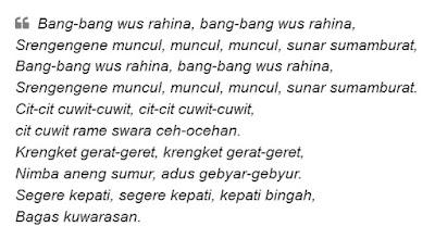 lirik lagu bang-bang wus rahino