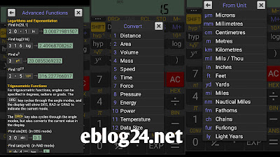 Student app realcalc scientific calculator