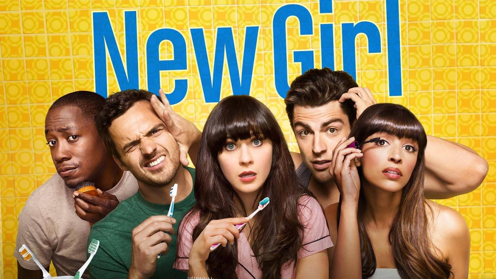 Poster promocional de la sexta temporada de New Girl
