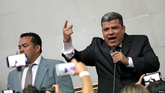 MUNDO: EE.UU. sanciona a Luis Parra y otros seis diputados venezolanos.