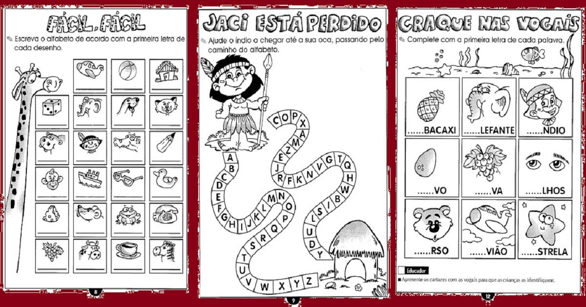 Muitas vezes Atividades de Alfabetização para crianças de 6 e 7 anos — SÓ ESCOLA HK47