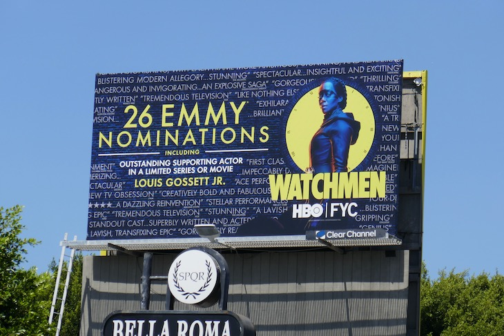 26 Emmy nominations Watchmen billboard