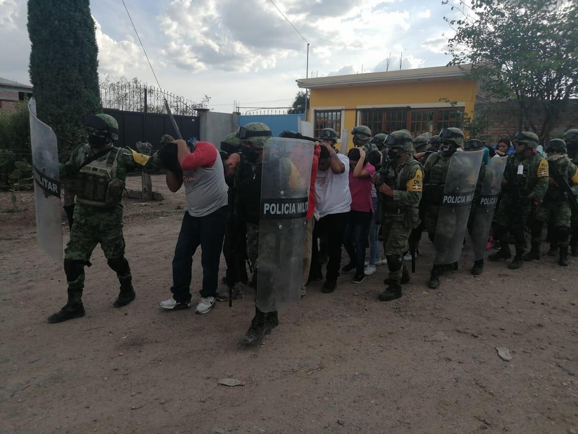 Capturan a 26 integrantes del Cartel de Santa Rosa de Lima por quema de Vehículos y Narcobloqueos en Celaya