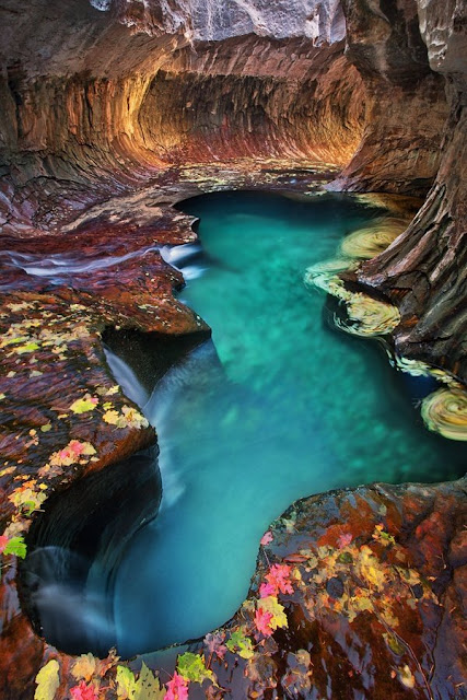 emerald pool zion